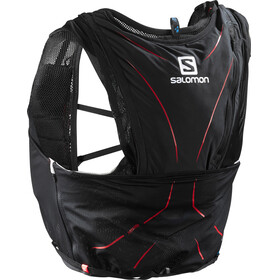 Salomon Adv Skin 12 Backpack Set black/marador